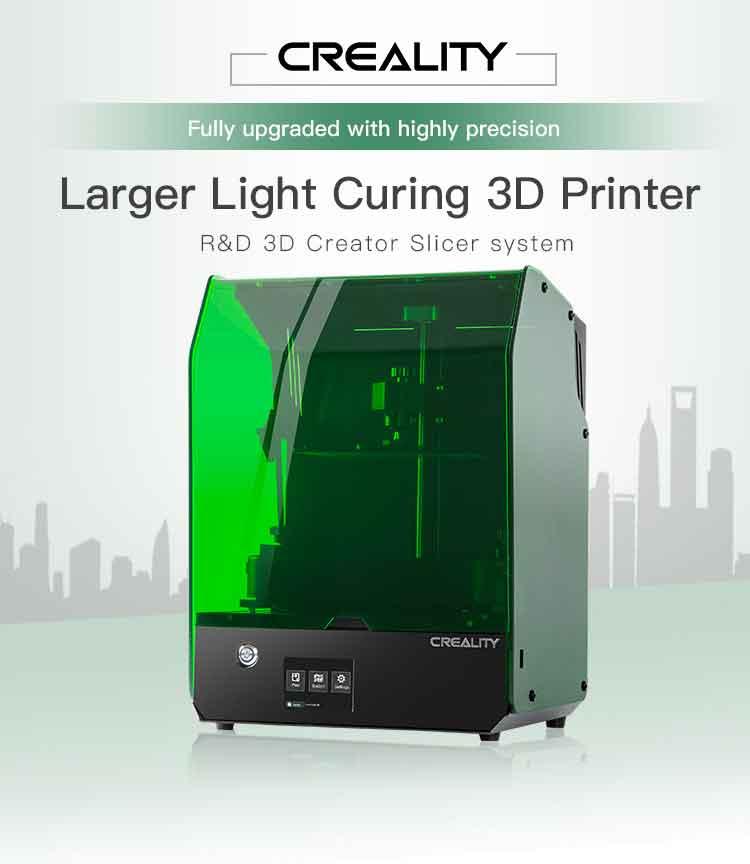 Creality 3D 光造形式 3Dプリンター192 x120 高精度 LCD 3Dプリンタ LCD-003【正規販売代理店】