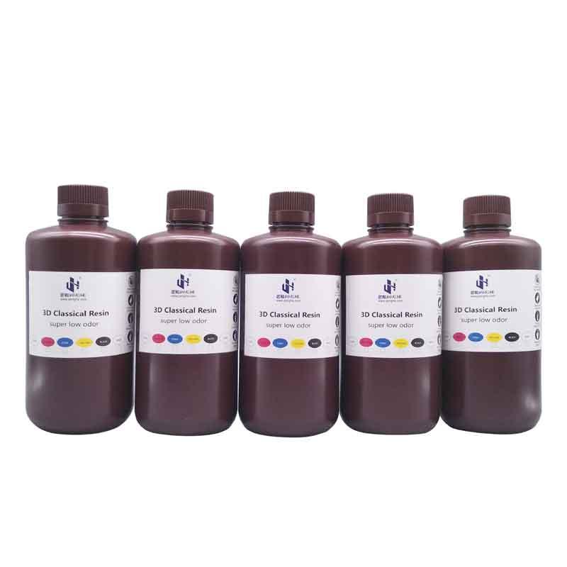 JAMG HE/ジャンホ  光造形 3Dプリンター(Anycubic Photon/Wanhao D7/Sparkmaker用) UV タフレジン(ウォシャブル) 1Kg