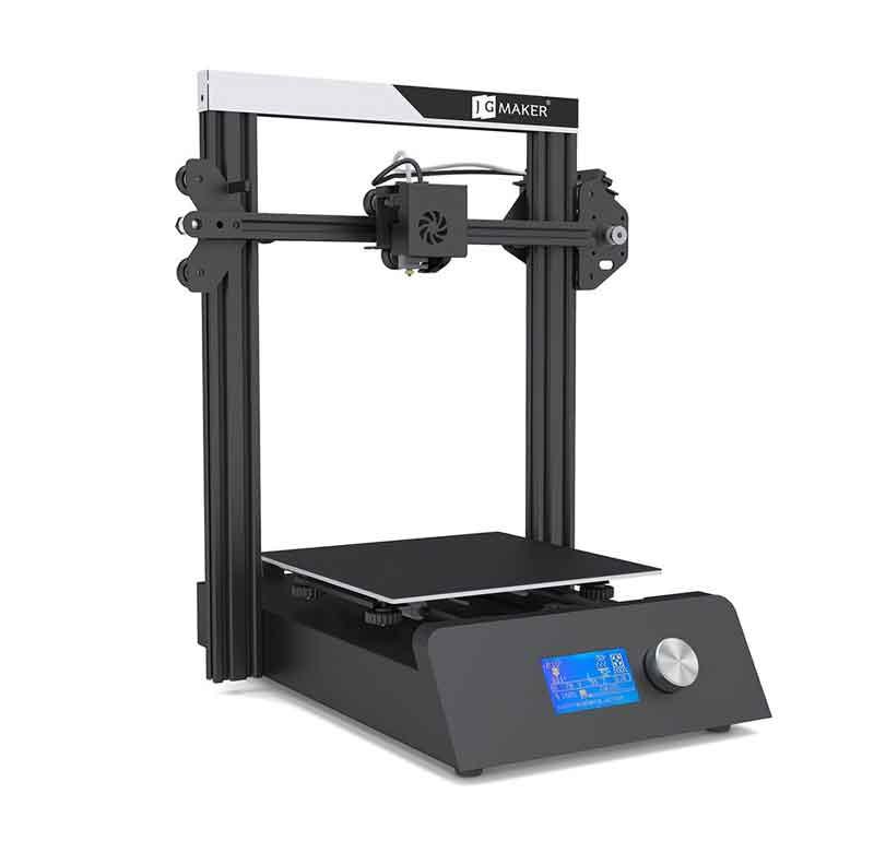 JGMaker MagicオールメタルフレームDIY 3Dプリンターキット220 * 220 * 250mm印刷サイズ/フィラメント切れ検出/停電再開機能