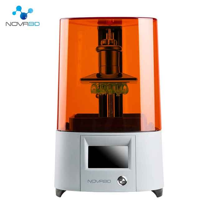 NOVA3D Elfinエルフィン  3Dプリンター LCD 光造形、130*70*150mm 印刷サイズ、WiFi/オフライン【正規販売代理店】