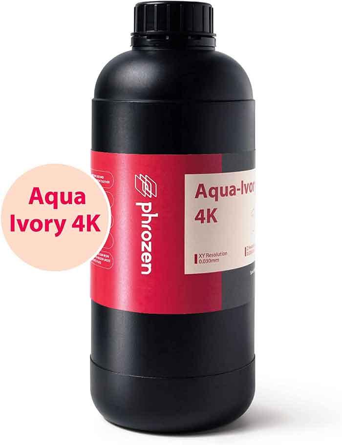 Phrozen Sonic mini 4K SLA/LCD 3Dプリンター用_Aqua-Ivory4K レジン (アイボリー) 1Kg