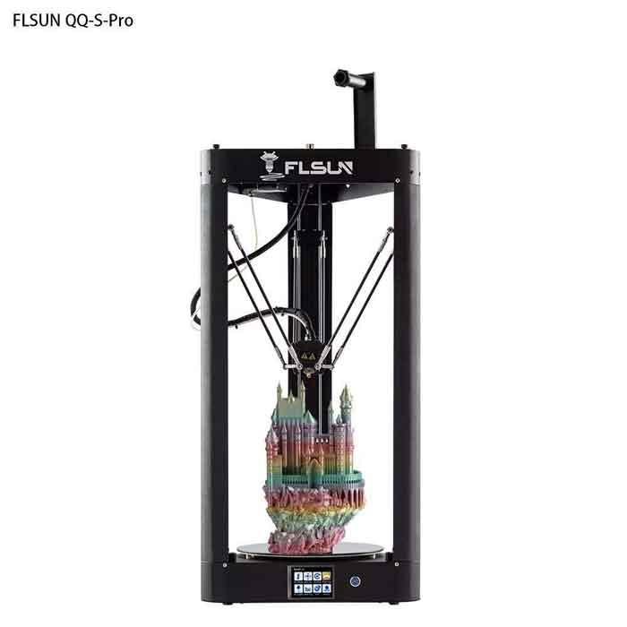 FLSUN QQ-S デルタ3dプリンター 大型メタルフレーム・オートレベリング・加熱ベッド・Wifi・SDカード