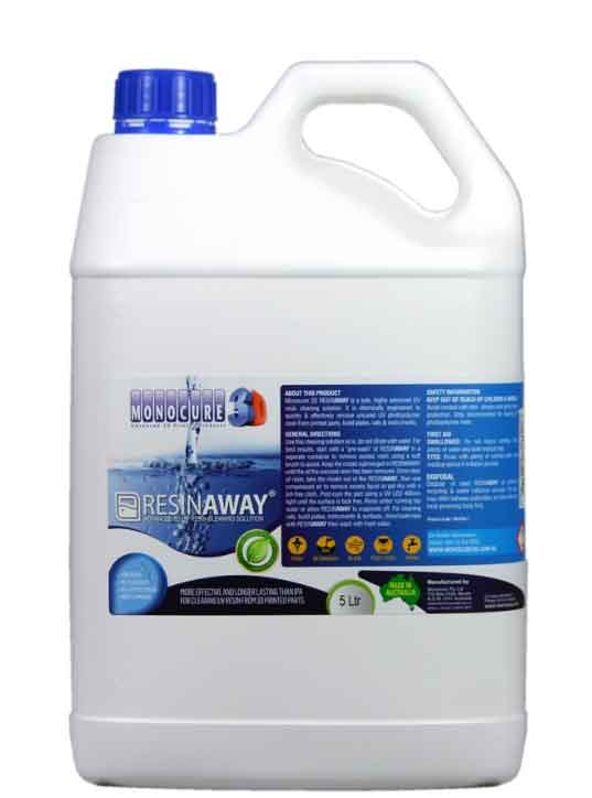 MONOCURE3D  UVレジン専用洗浄液( RESINAWAY CLEANER) 5L