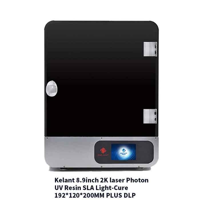 Kelant S400S  8.9 インチ 2K LCD192 * 120 * 200mm大規模なビルドボリューム/デュアルレールZ軸/3.5インチタッチスクリーンサポートWIFI / Uディスク印刷  光造形式 3Dプリンターキット 【正規販売代理店】