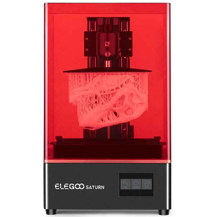 ELEGOO SATURN MSLA 4K 8.9 インチマトリックスUV LED光源 オフライン LANプリント 印刷サイズ192x120x200 mmモノクロLCD 3Dプリンター【正規販売代理店】