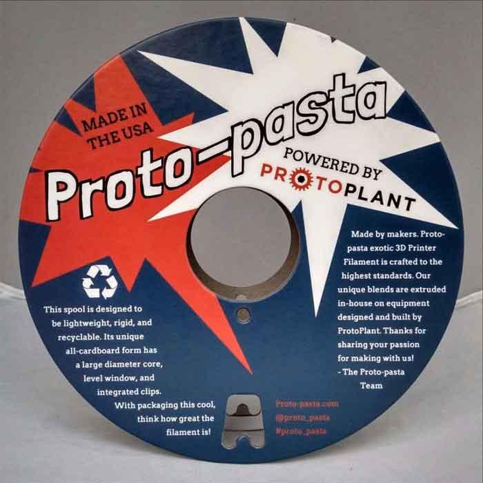 プロトパスタ ステンレススチールPLA樹脂フィラメント 500g