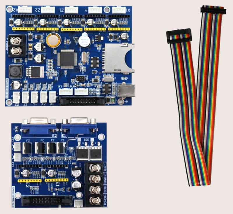 Tenlog DMP7軸マザーボードV2、ドライバーなし、Hands 2 / Hands 2 Pro / TL-D3 / D5 / D6