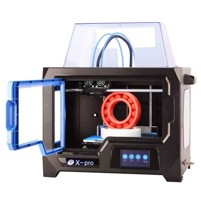 QIDI TECHNOLOGY/チーディーテクノロジー 3Dプリンター 新モデル:X pro,デュアルエクストルーダー・4.3インチタッチスクリーン