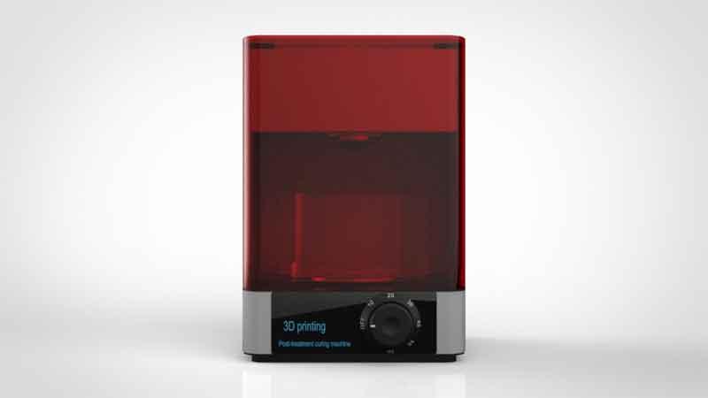 EZY UV LED硬化ボックス(セミオートマチック・水中硬化5分-60分)