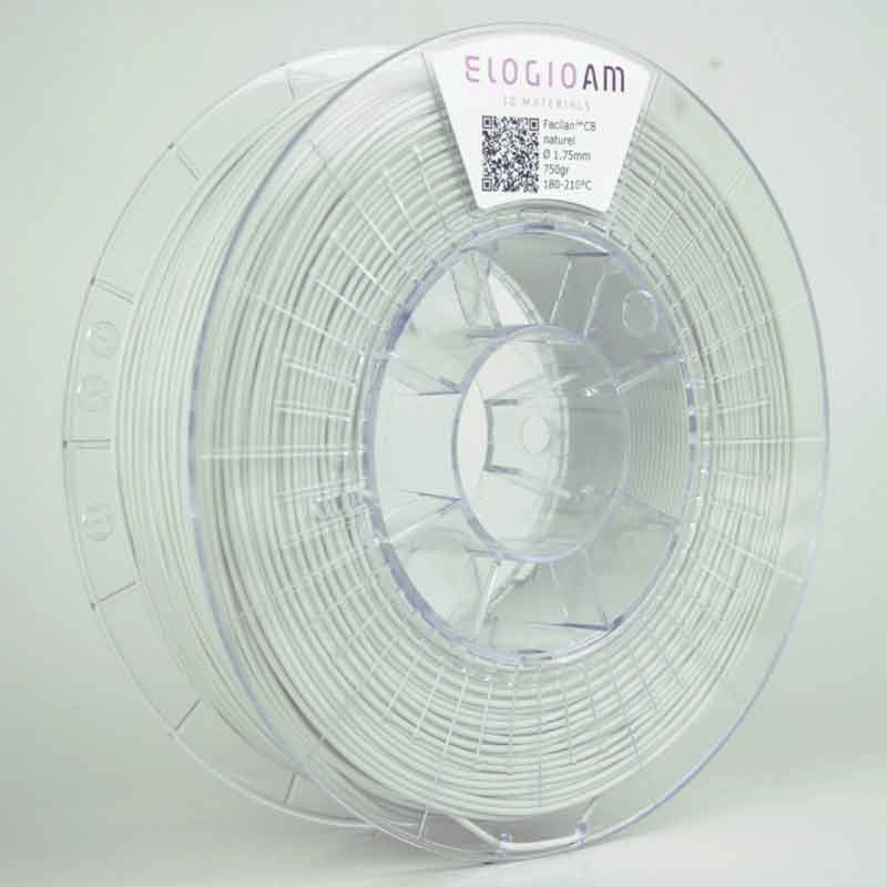Facilan™ C8フィラメント 色:白(White) ELOGIO AM社