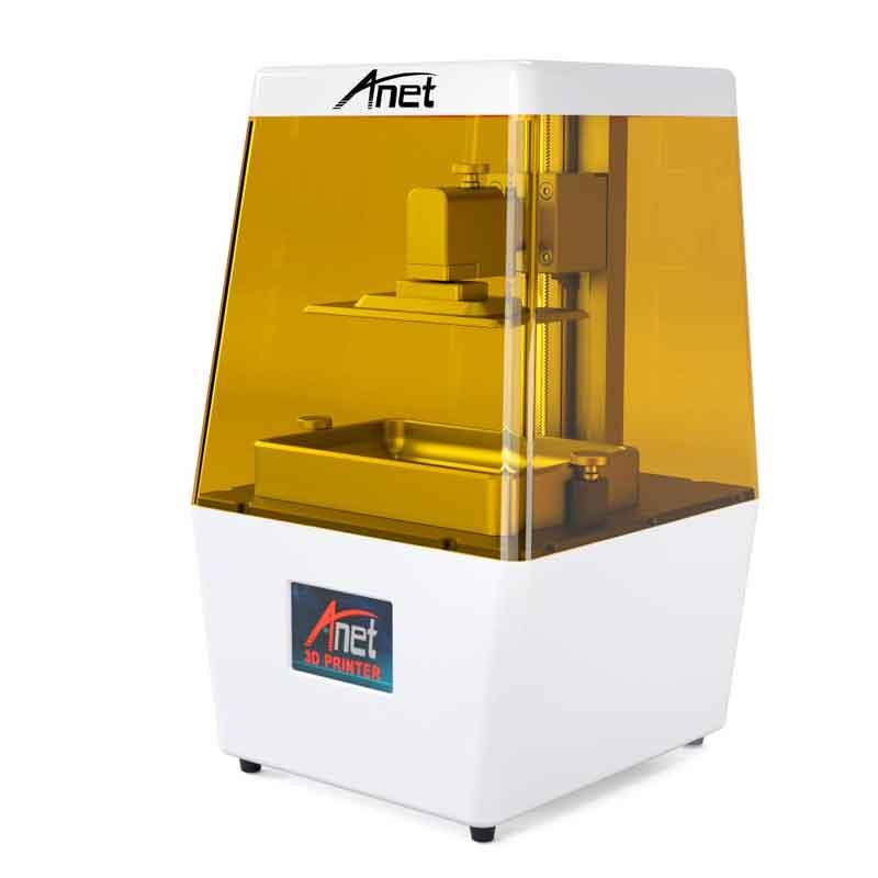 Anet 光造形式 3Dプリンター 2K 高精度 LCD 3Dプリンタ N-4【正規販売代理店】