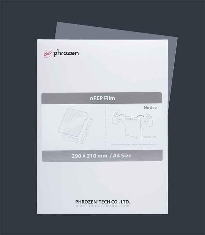 Phrozen  SLA/LCD光造形式 mini/mini4K A4サイズ 3Dプリンター用n FEPフィルム(Phrozen純正)