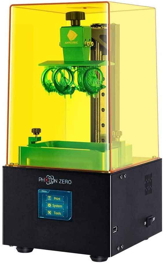 Anycubic  PHOTON -ZERO 光造形式 3Dプリンター(サンプルレジン無)【正規販売代理店】