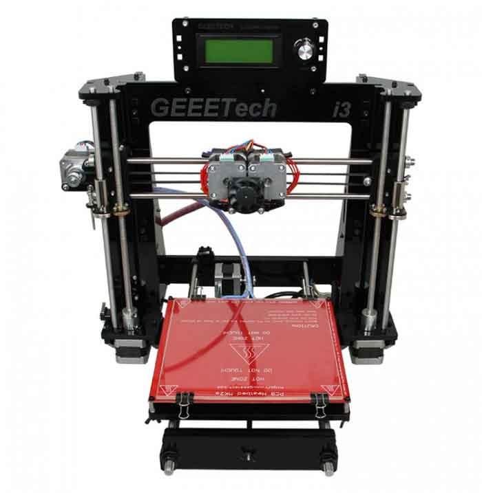 Geeetech I3 pro C アクリル製デュアル・エキストルーダー3Dプリンター組み立てキット