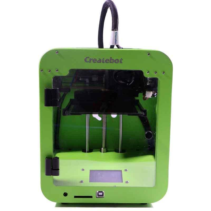 高速!簡単!きれいな造形です!LCDタッチスクリーン搭載ニューモデルCreatebot Super Mini 3Dプリンター 本体【正規販売代理店】