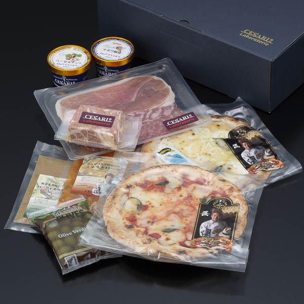 イタリアンお惣菜・ピッツァ・ジェラートセット