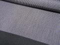 鉄色、万筋文様の江戸小紋  【3111】