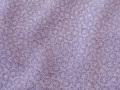 紫苑色、(極)雪輪文様の江戸小紋 【3802】