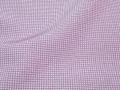 浅紫色、角通し文様の江戸小紋 【4405】