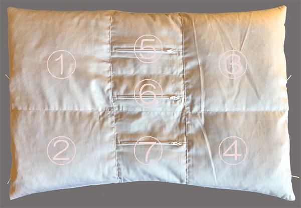 セミオーダー枕7部屋