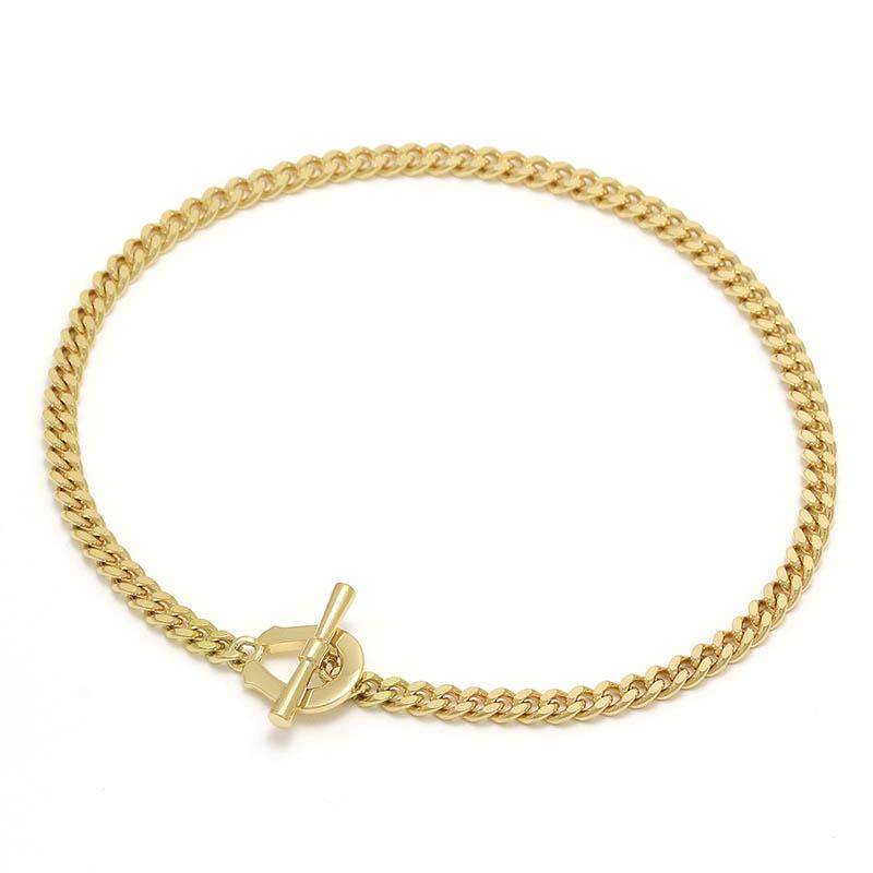 メンズアクセサリー Classic Chain Bracelet - K18Yellow Gold