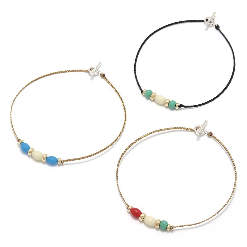メンズアクセサリー One Mile Jewelry PDS Beads Bracelet