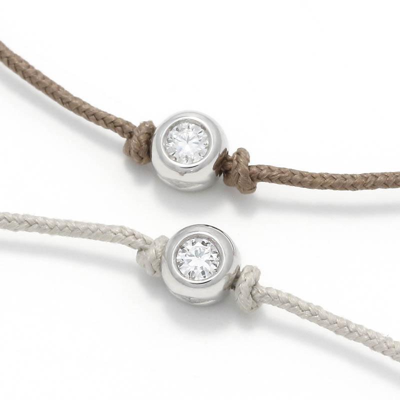 メンズアクセサリー One LG Diamond Bracelet - Silver w/Laboratory Grown Diamond
