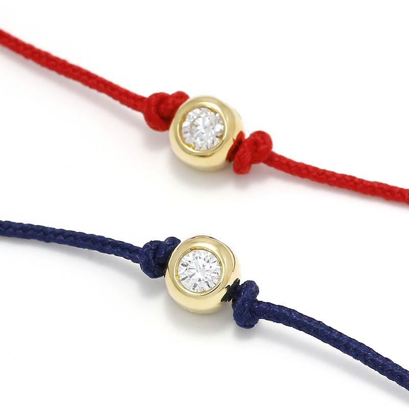 メンズアクセサリー One LG Diamond Bracelet - K18Yellow Gold w/Laboratory Grown Diamond