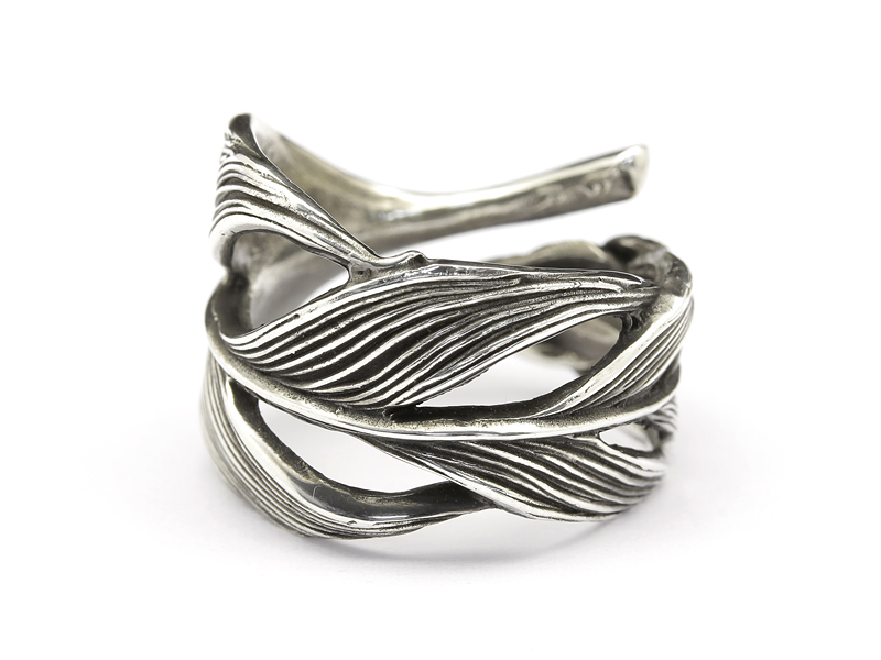 Owl Feather Ring