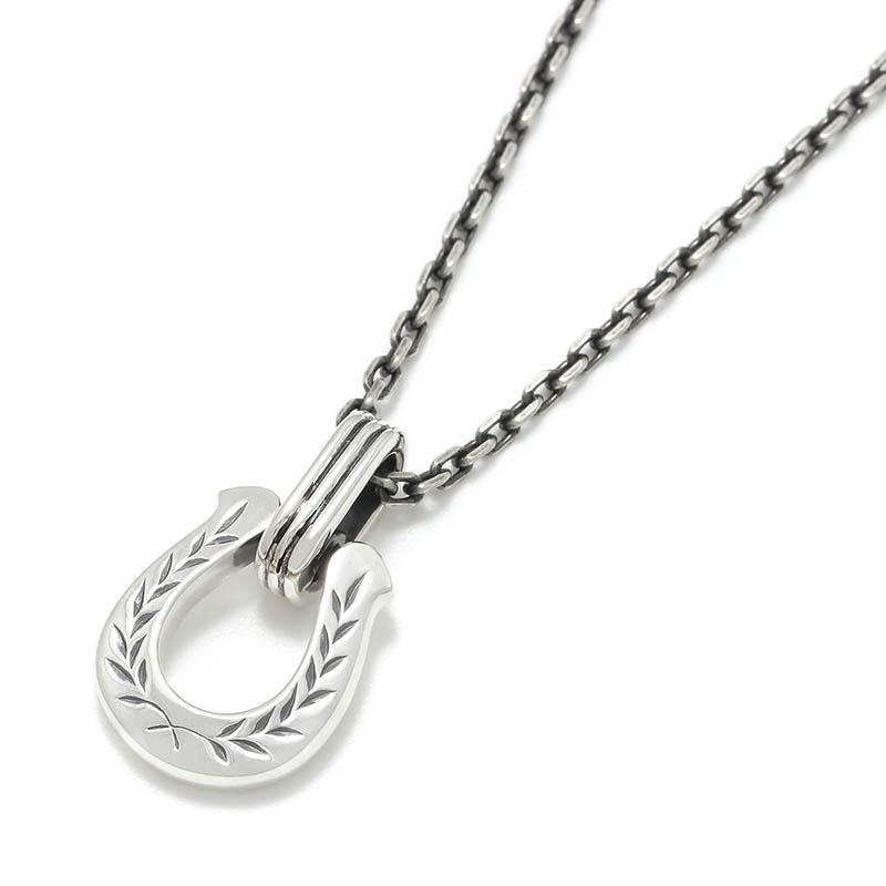 メンズアクセサリー Horseshoe Amulet Necklace - Laurel