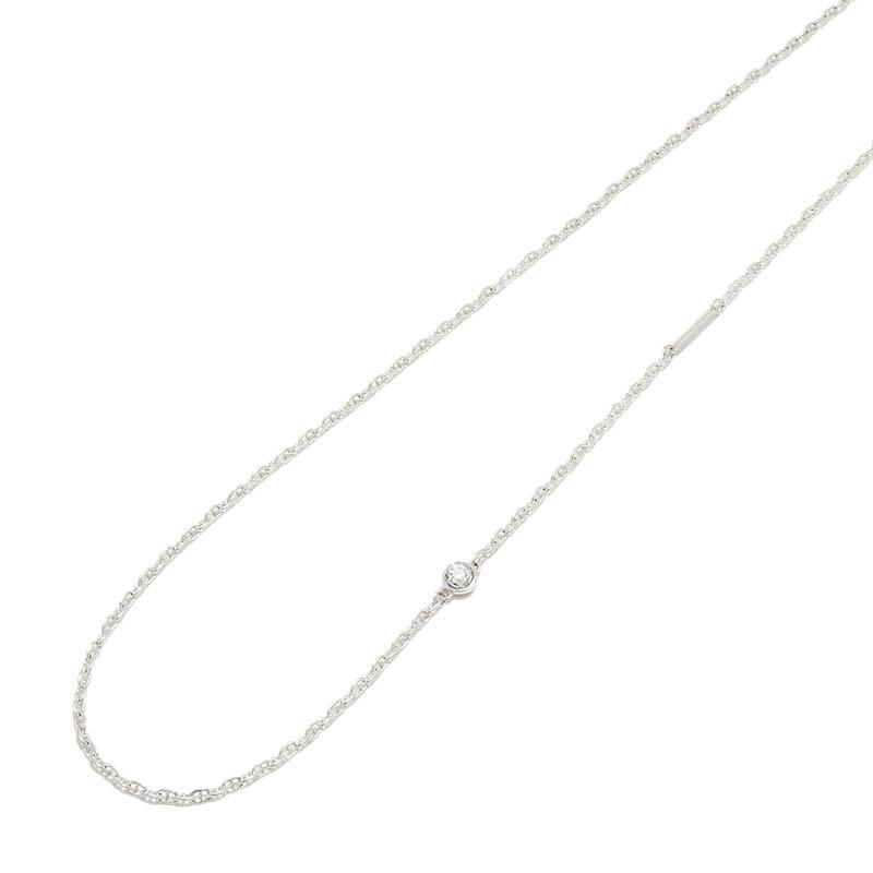 メンズ ネックレス チェーン ダイヤモンド 合成ダイヤ