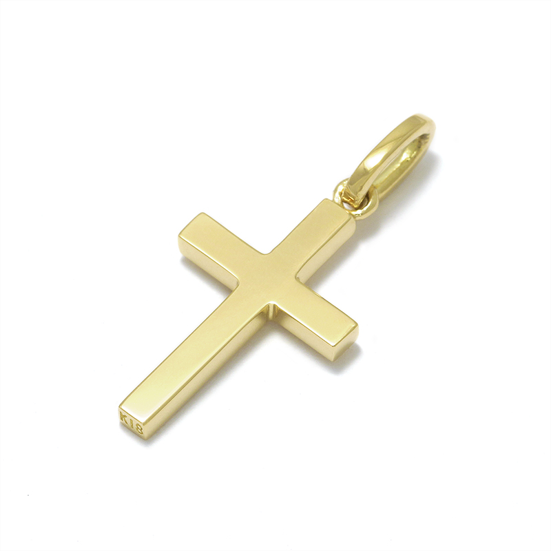 Simple Cross Pendant - Small