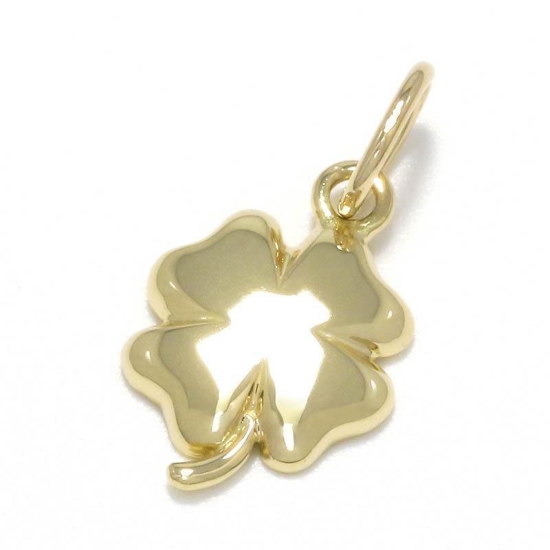 メンズアクセサリー Small Clover Charm - K18Yellow Gold