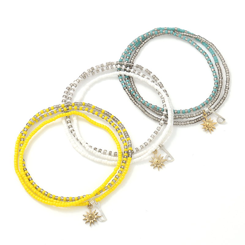 PERAPERAK×SYMPATHY OF SOUL Collaboration 3way Beads Anklet