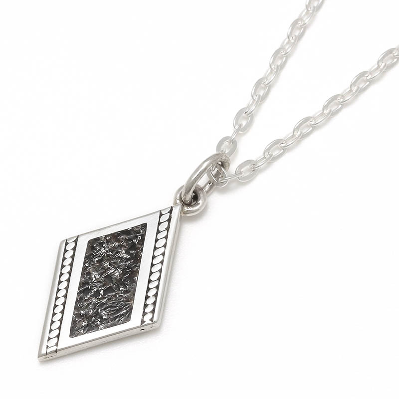 メンズアクセサリーONX Filled Dia Shape Necklace