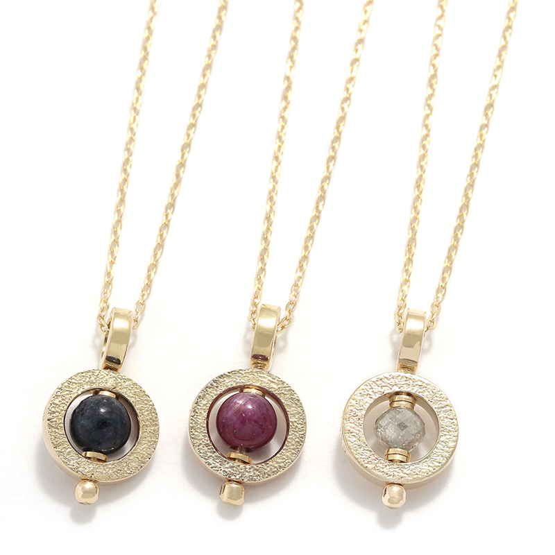 Tiny Bramanda Necklace - 10KYG