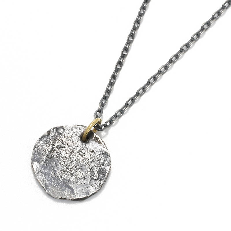 メンズアクセサリー Remix Coin Necklace - Silver w/18KYG