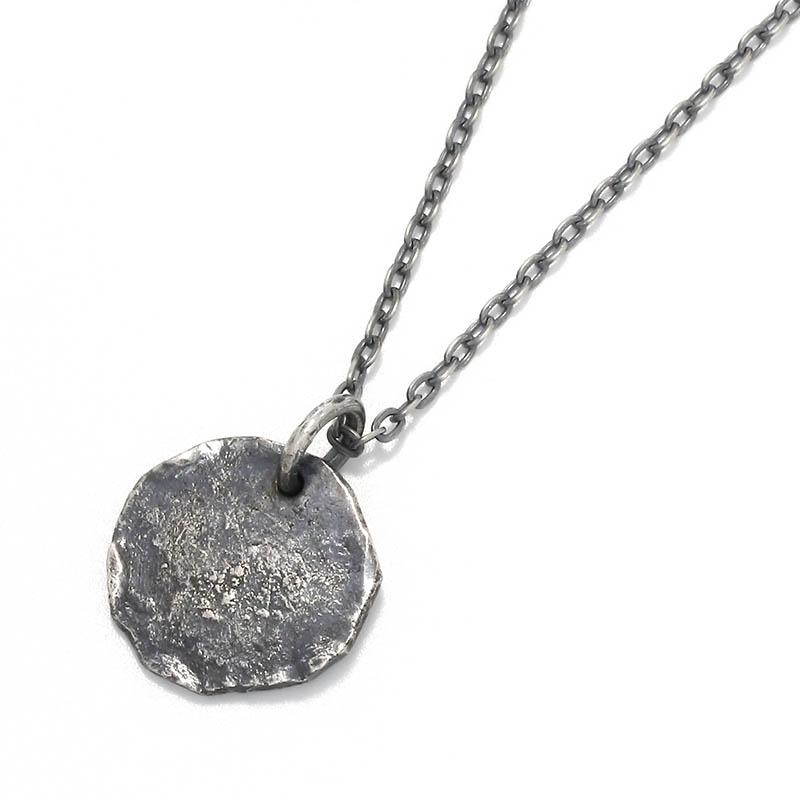 メンズアクセサリー Remix Coin Necklace - Silver