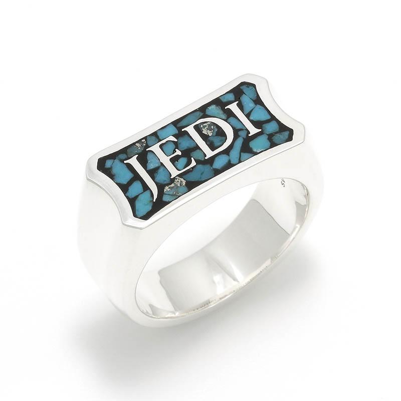 メンズアクセサリー STAR WARS Collection Inlay Ring JEDI