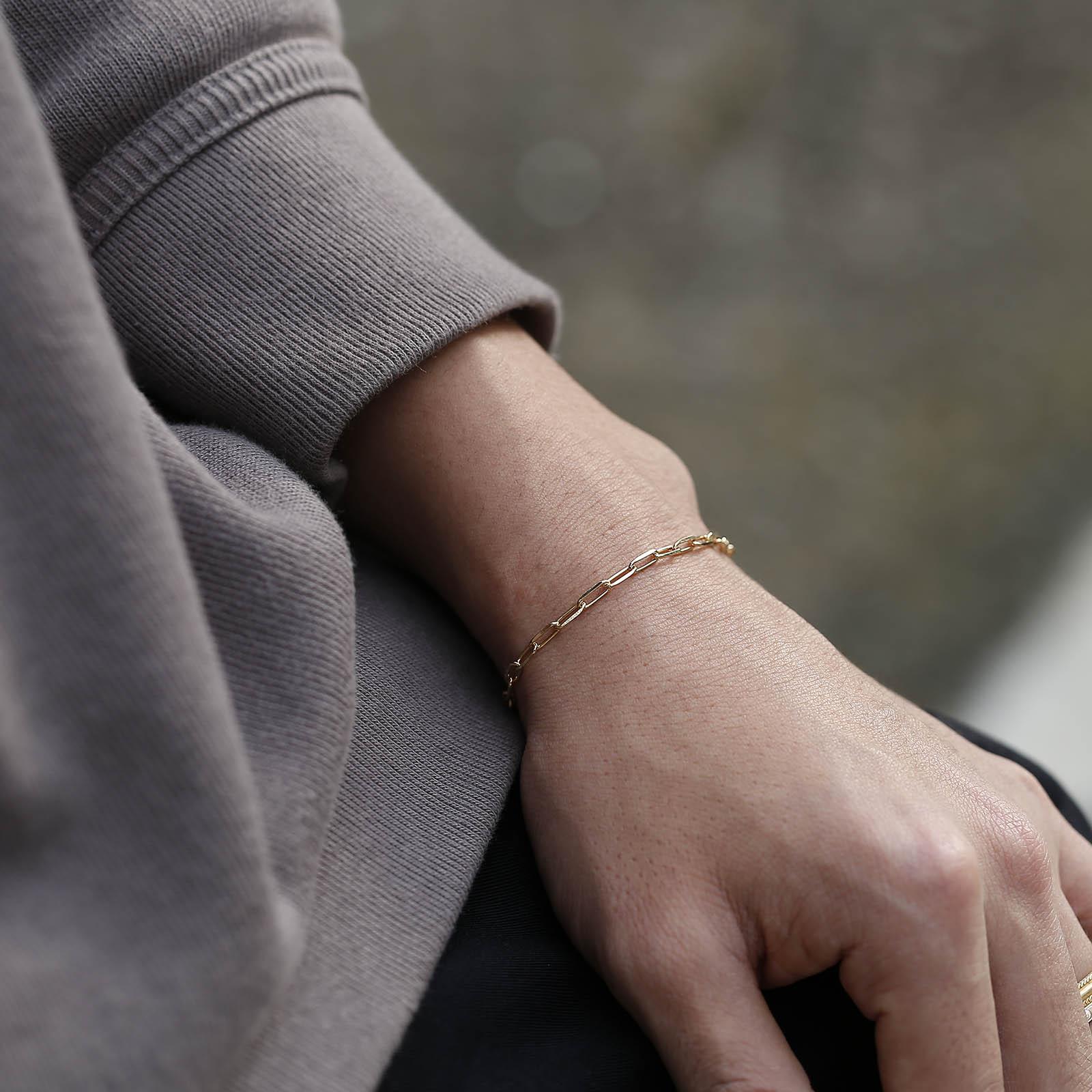メンズアクセサリー JUST GOOD Chain Bracelet - Anchor - GV