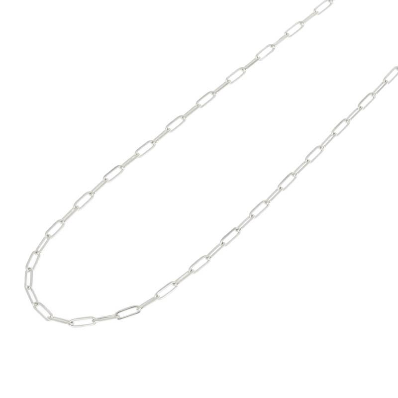 メンズアクセサリー JUST GOOD Chain Necklace - Anchor - Silver