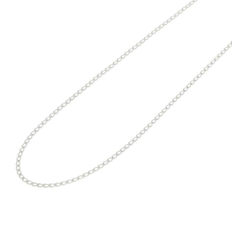 メンズアクセサリー JUST GOOD Chain Necklace - Classic - Silver