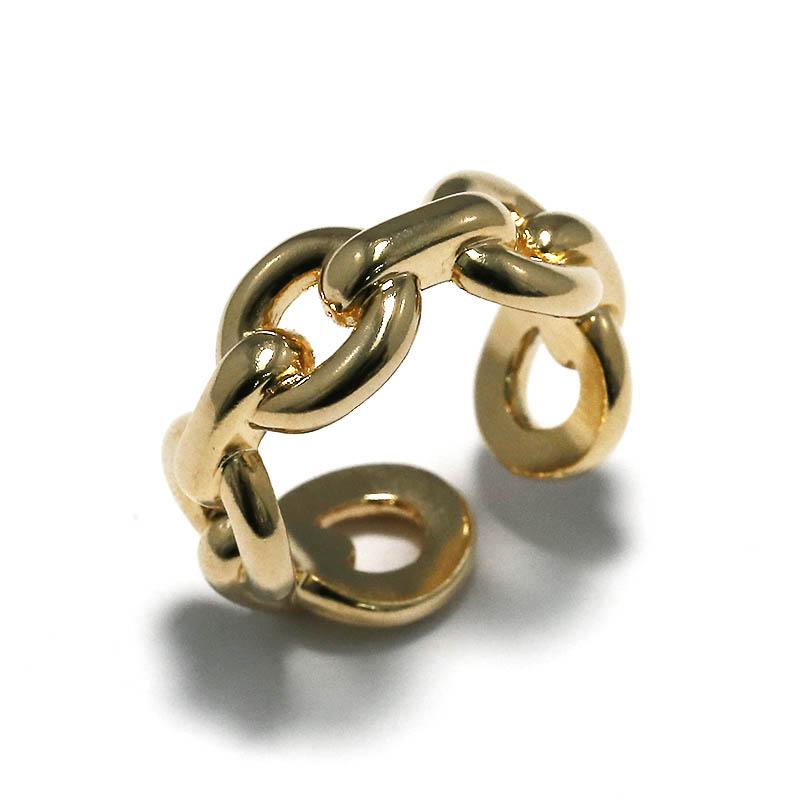 メンズアクセサリー JUST GOOD Chain Ring - GV