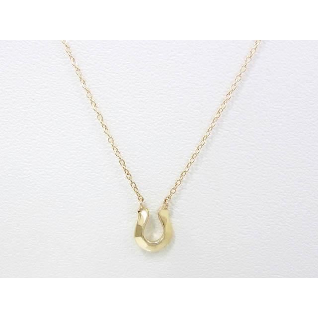 メンズアクセサリー Little Horseshoe Necklace - K10Yellow Gold