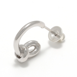 Knot Pierce - Silver