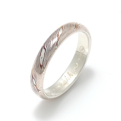 MOKUME Wide Combination Ring