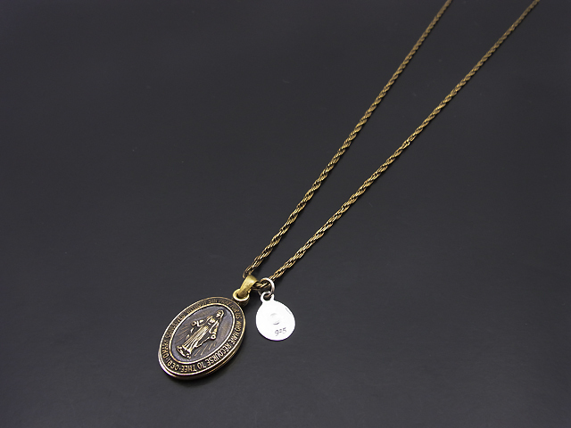 Maria Necklace - Brass