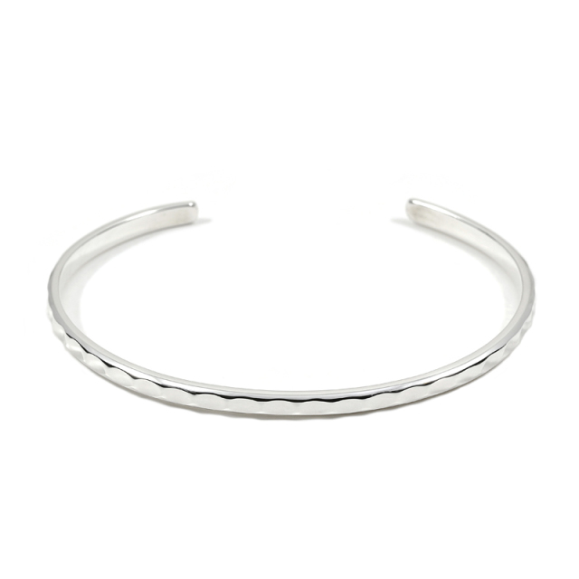Brilliance Bangle - Silver