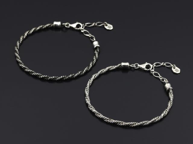 Twist Chain Bracelet - Silver