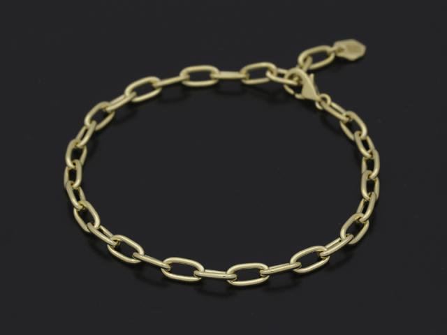 Plain Chain Bracelet Medium